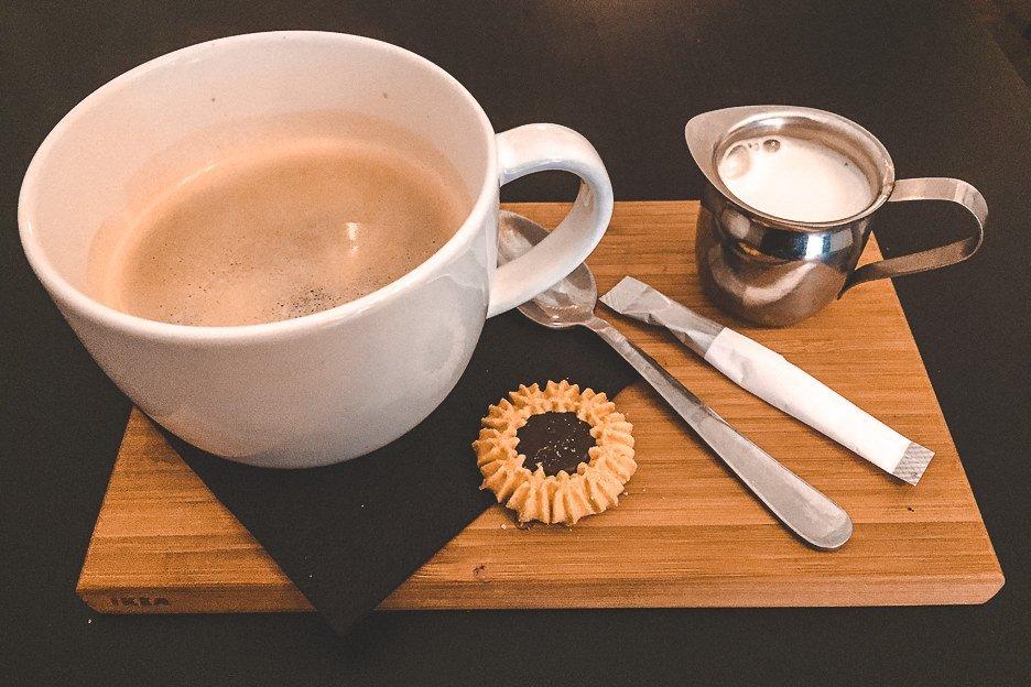 Koffie double at Coffeebar Intense, Antwerp Belgium