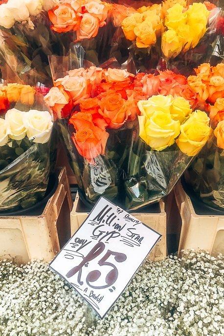 Visit Columbia Road Flower Market in East London