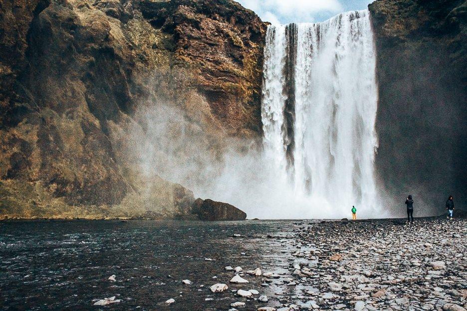 Magnificent Skogafoss Waterfall, Iceland