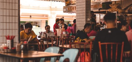 Singapore Hawker Dishes