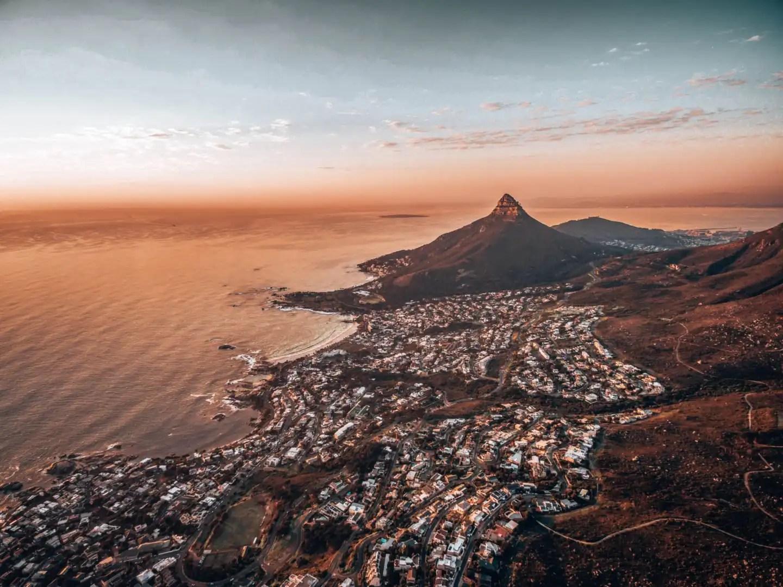 Cape Town sunset shot