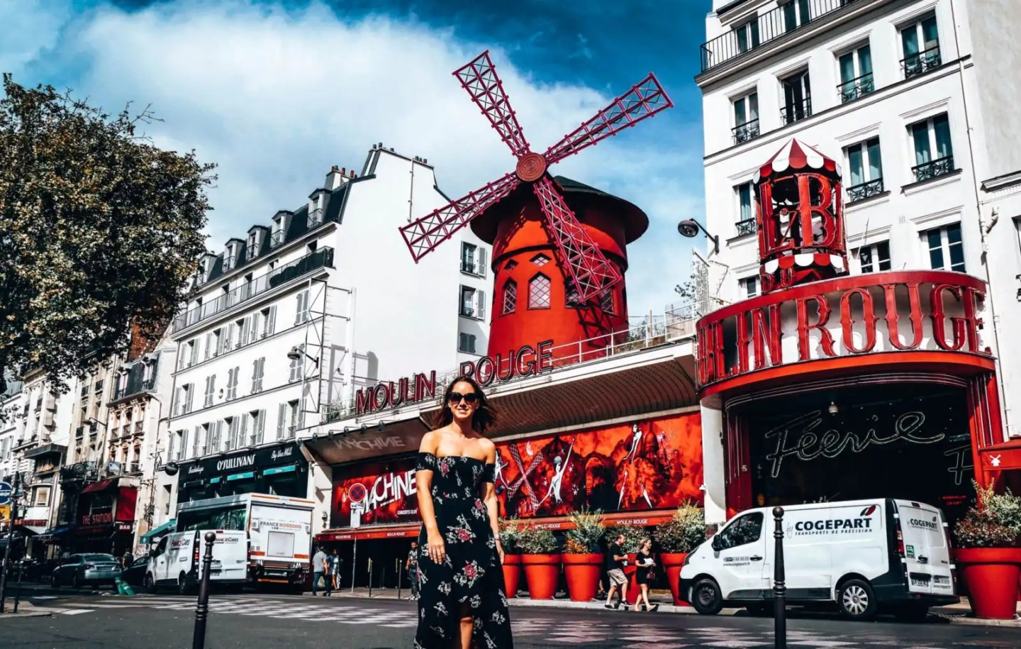 Moulin Rouge as part of 2 days Paris itinerary