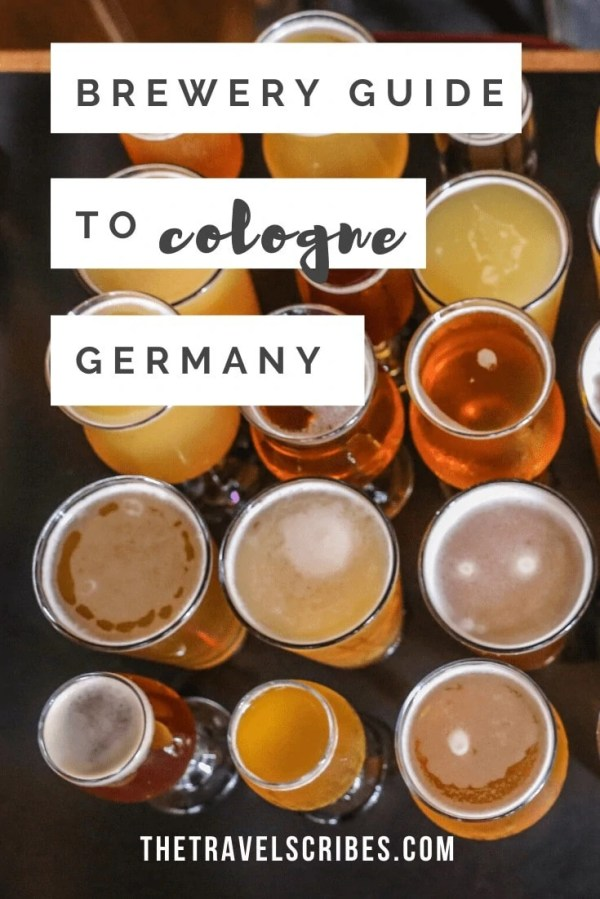 Cologne Brewery Tour - a must on any trip to Cologne