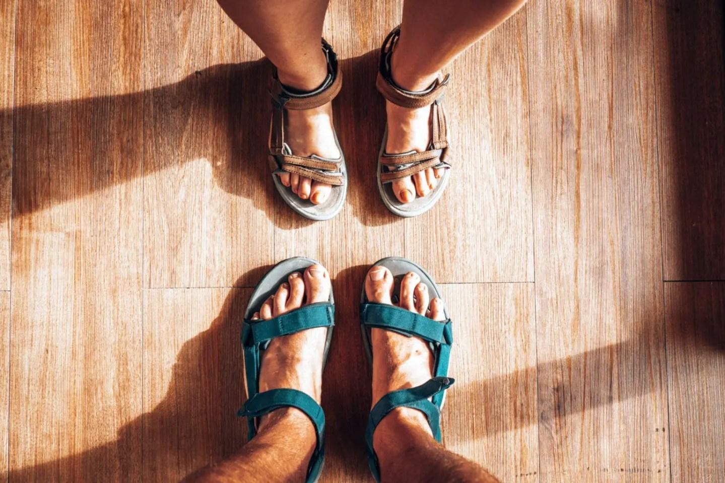 Teva hiking sandals