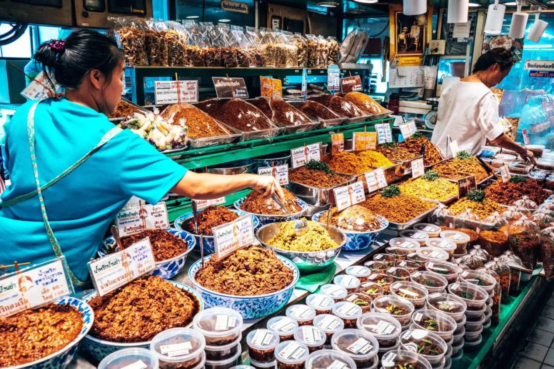Or Kor Tor Market. Spices.