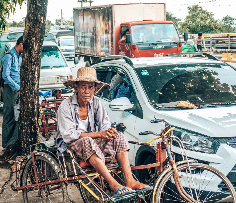 Yangon itinerary - 3 days in Yangon - Rickshaw