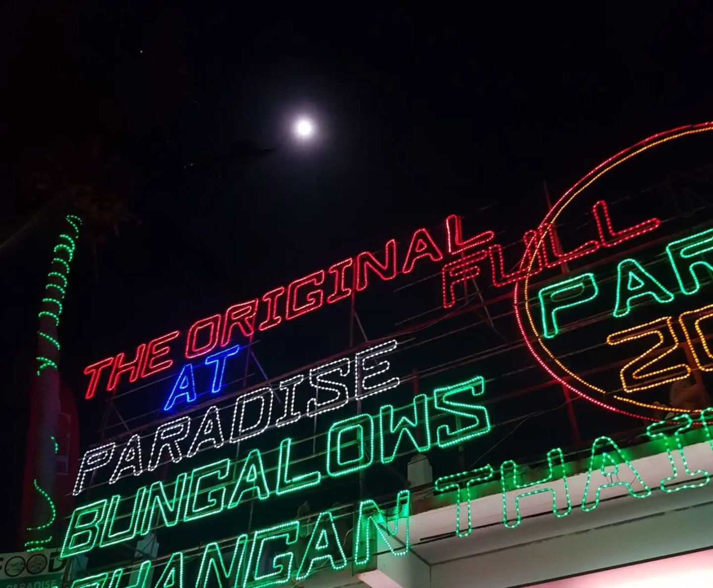 Full Moon at Haad Rin, Koh Pha Ngan
