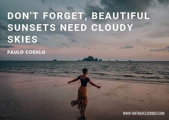 Sunset quotes - Paulo Coehlo
