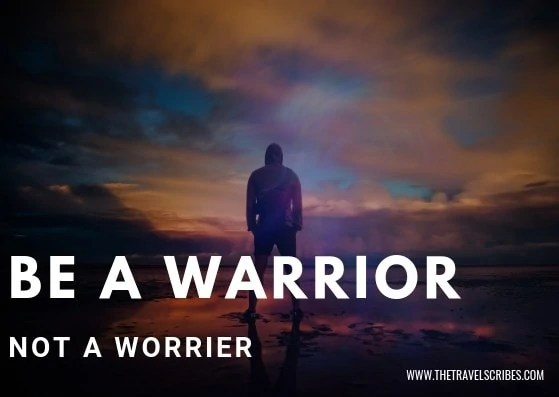 Captions for Facebook - Be a Warrior