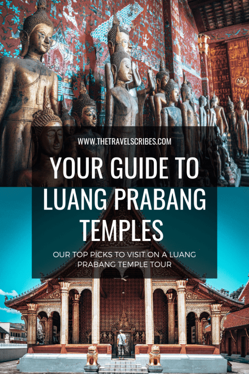Pinterest Graphic for Luang Prabang Temples