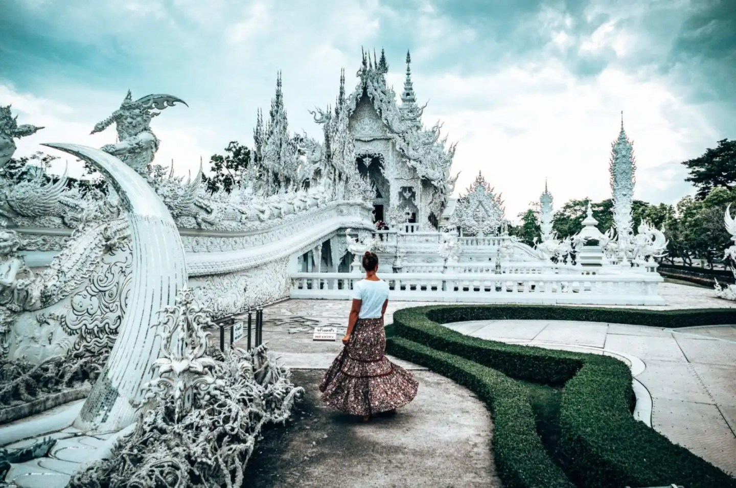 The White Temple, Chiang Rai