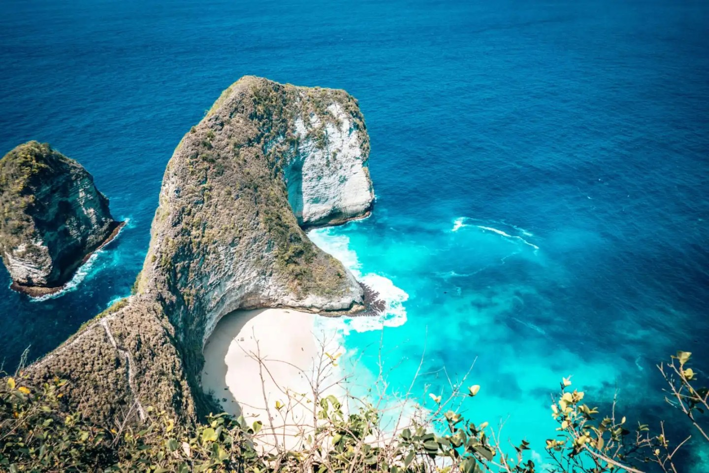 7 days Bali itinerary - Kelingking beach