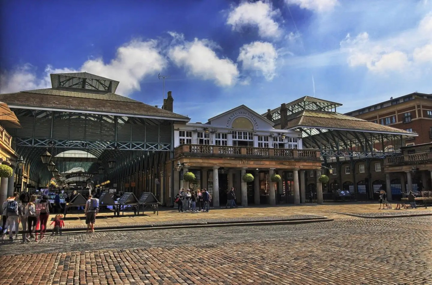 Covent Garden - part of a London 4 day itinerary