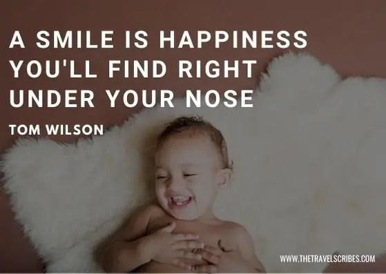 Smile Quotes Smile Captions - Happy smile quote