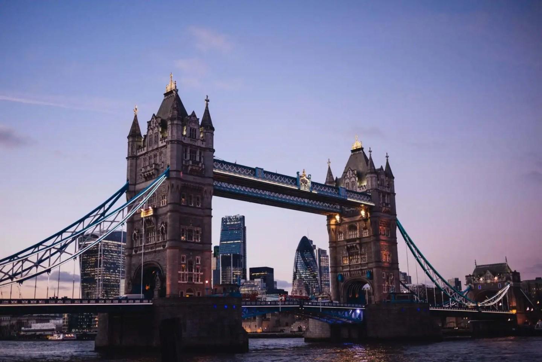 Tower Bridge - London itinerary