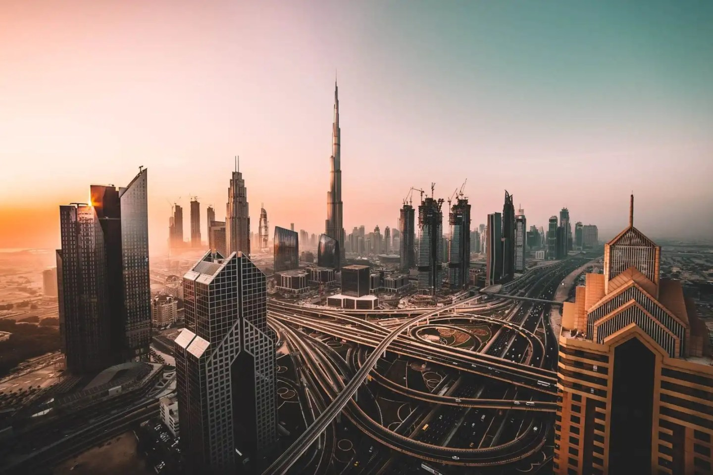 Image of Dubai skyline