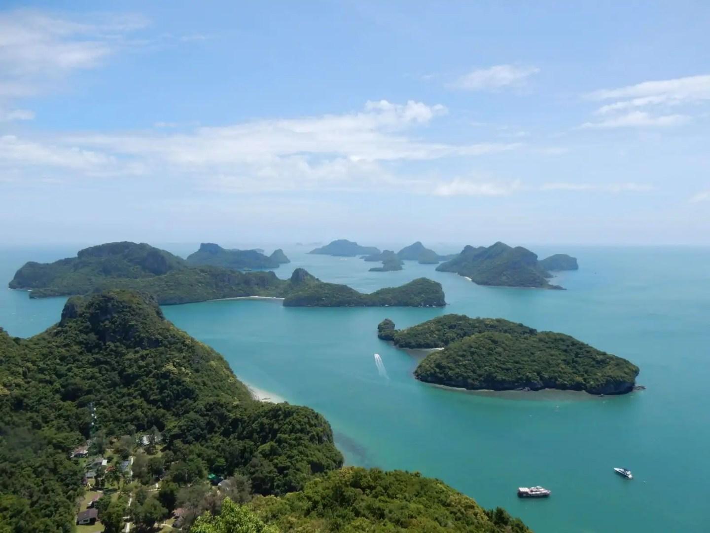 Landmarks in Thailand - Ang Thong