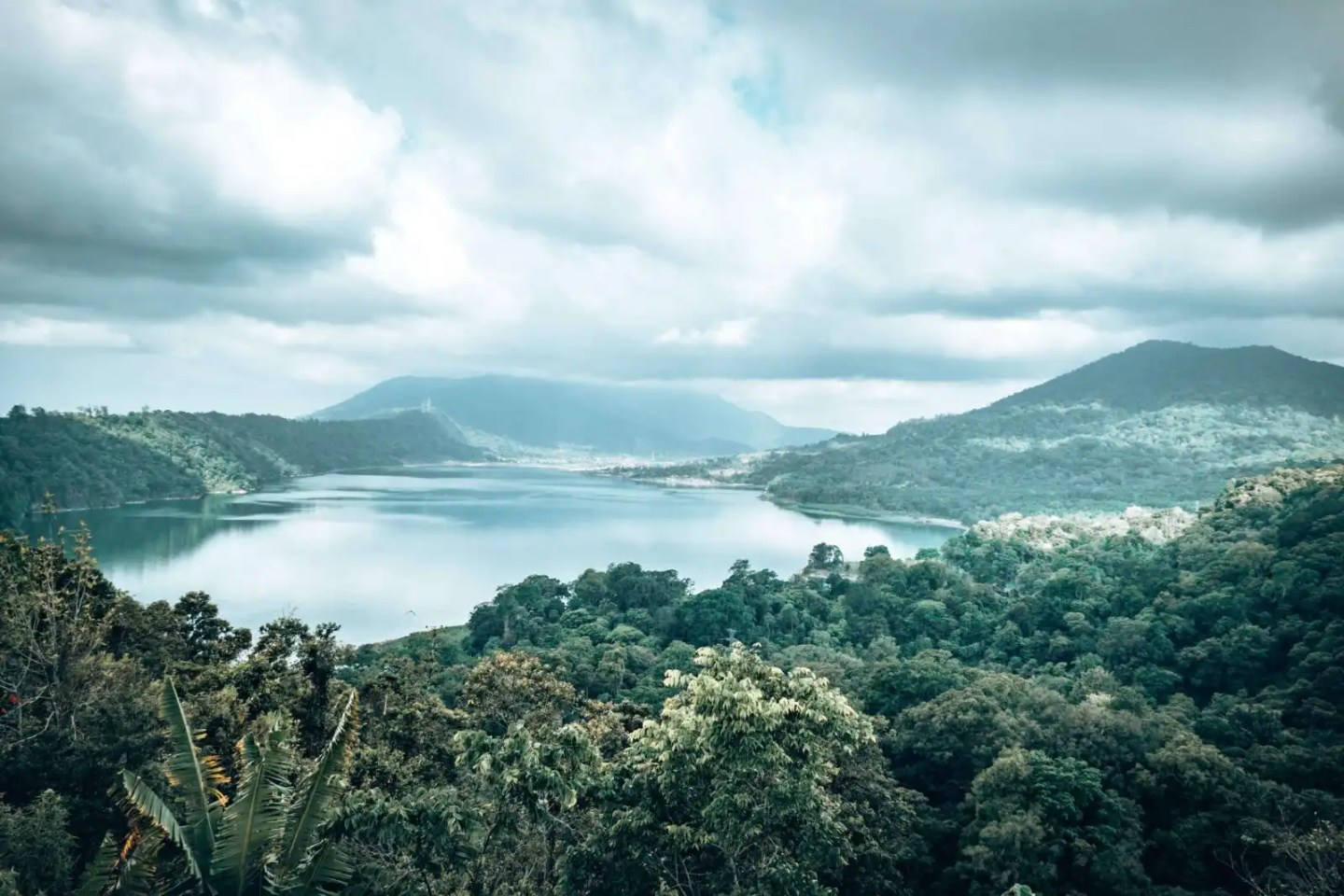 Twin Lakes Bali - View from the top
