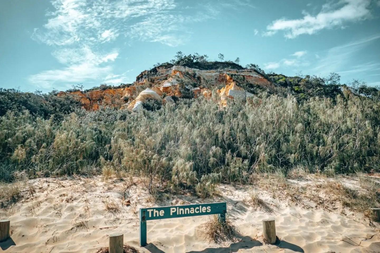 The Pinnacles on Fraser Island