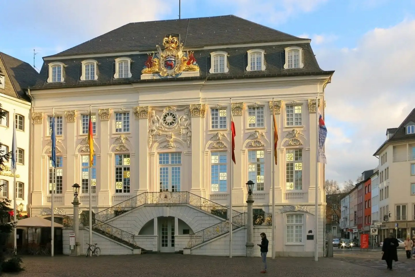 The Altes Rathaus in Bonn, Germany