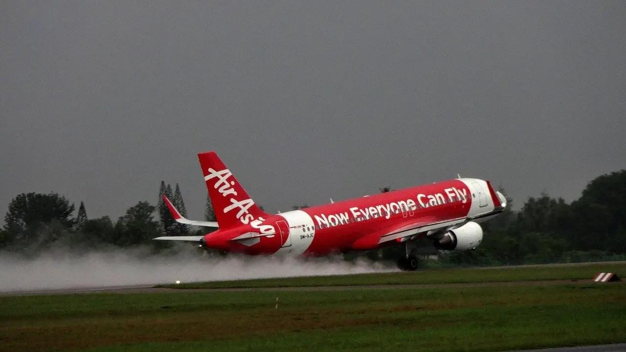Air Asia hub in Kuala Lumpur