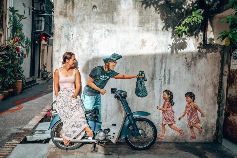 Biker Boy mural