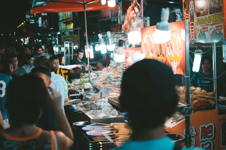 Jalan Alor food street, Kuala Lumpur