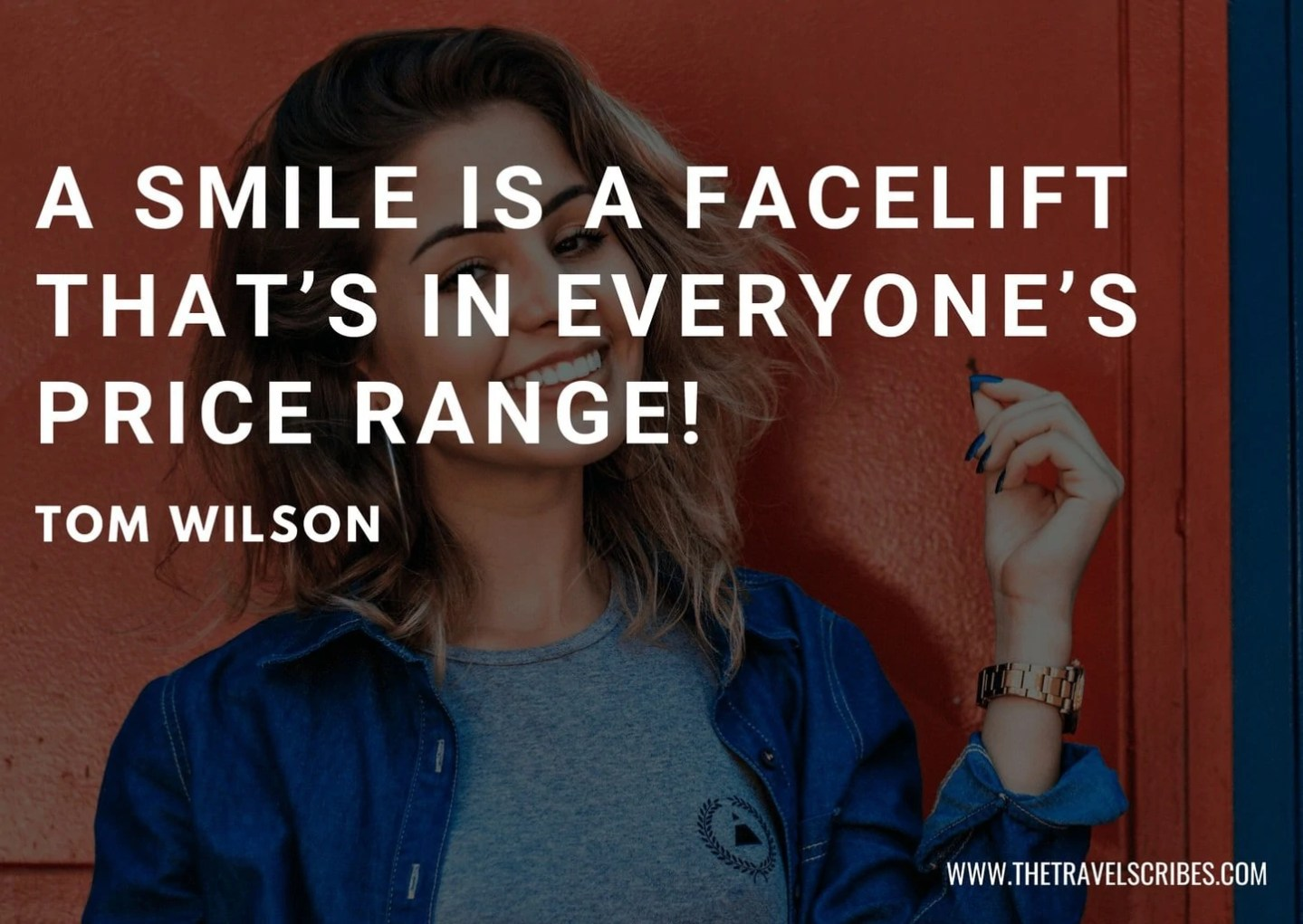 Funny quote about smile