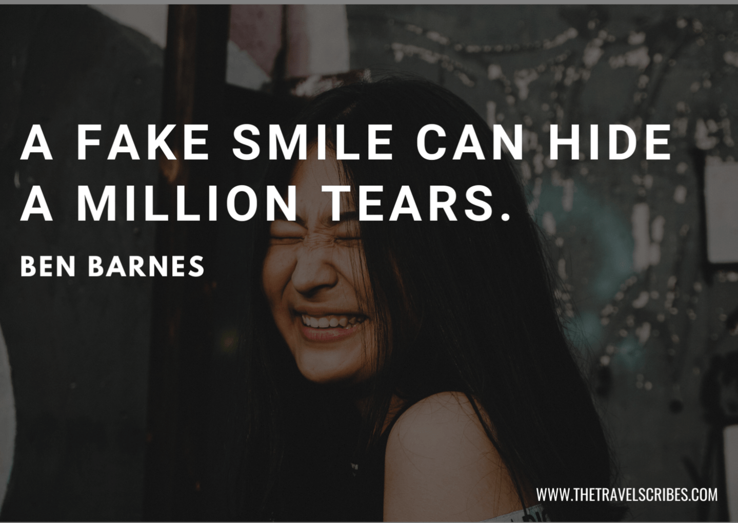 Quotes about fake smiles