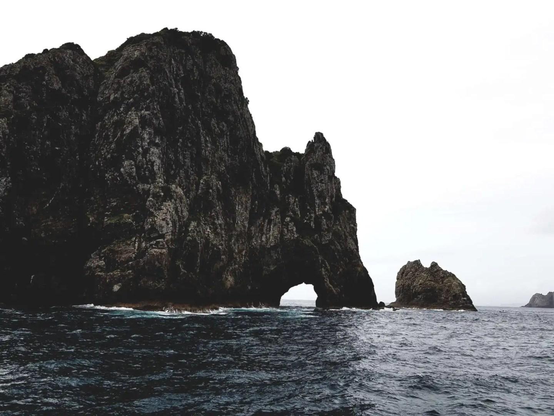 Hole in the Rock near Paihia, New Zealand