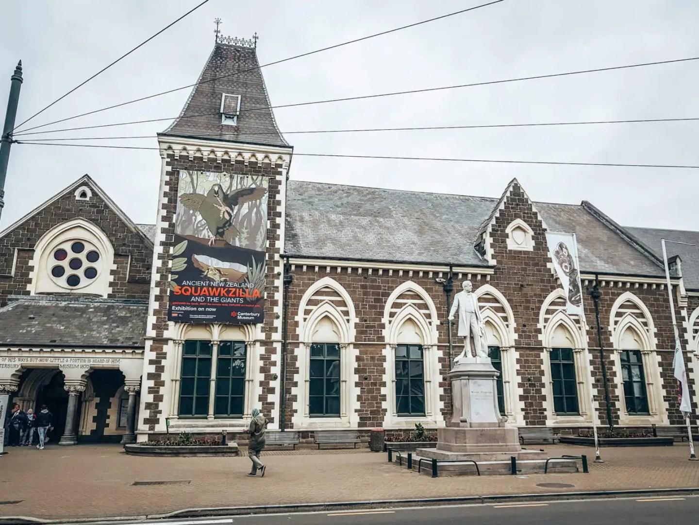 Canterbury museum, Christchurch
