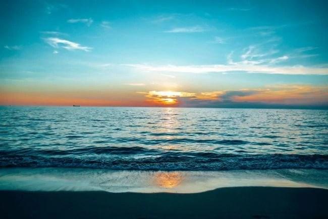 Sunset on Klong Nin beach, Koh Lanta