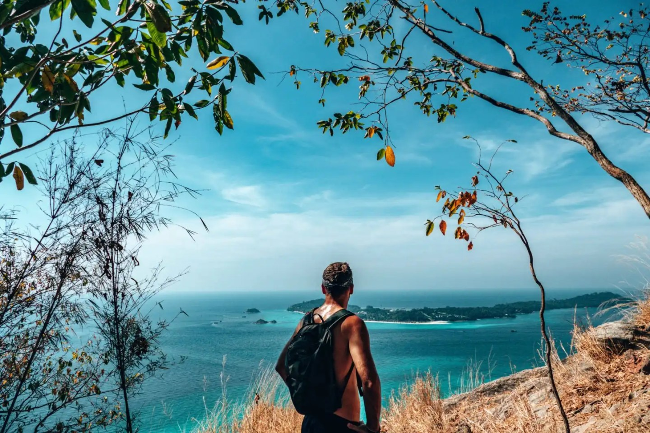 The view towards Koh Lipe