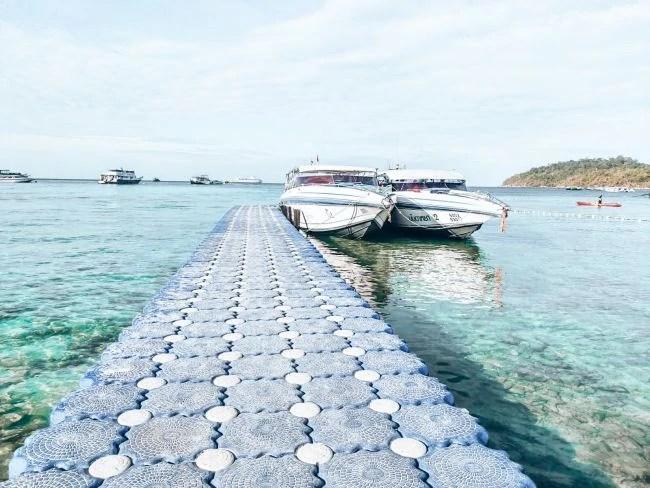 Koh Lanta to Koh Lanta ferry - Bundhaya Ferry