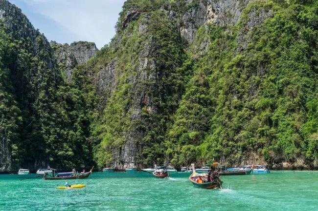Phuket Thailand boats