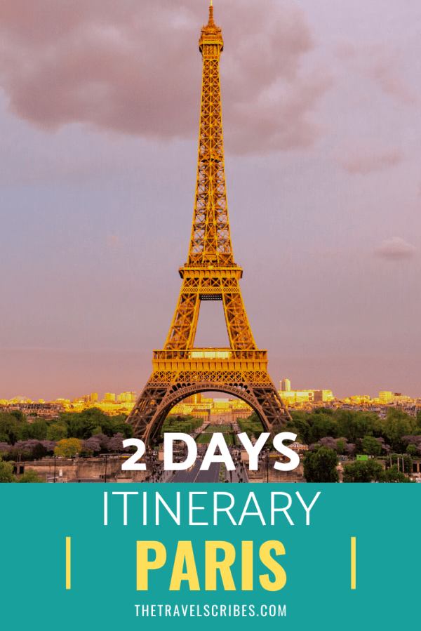 Ultimate Paris itinerary - looking to spend a weekend or a few days in Paris? We've put together the ultimate guide to the French capital!