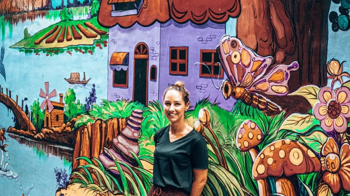 3 days in Yangon itinerary - street art