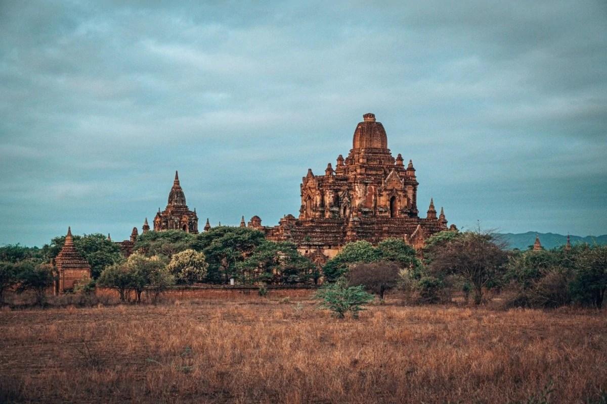 Bagan temples map