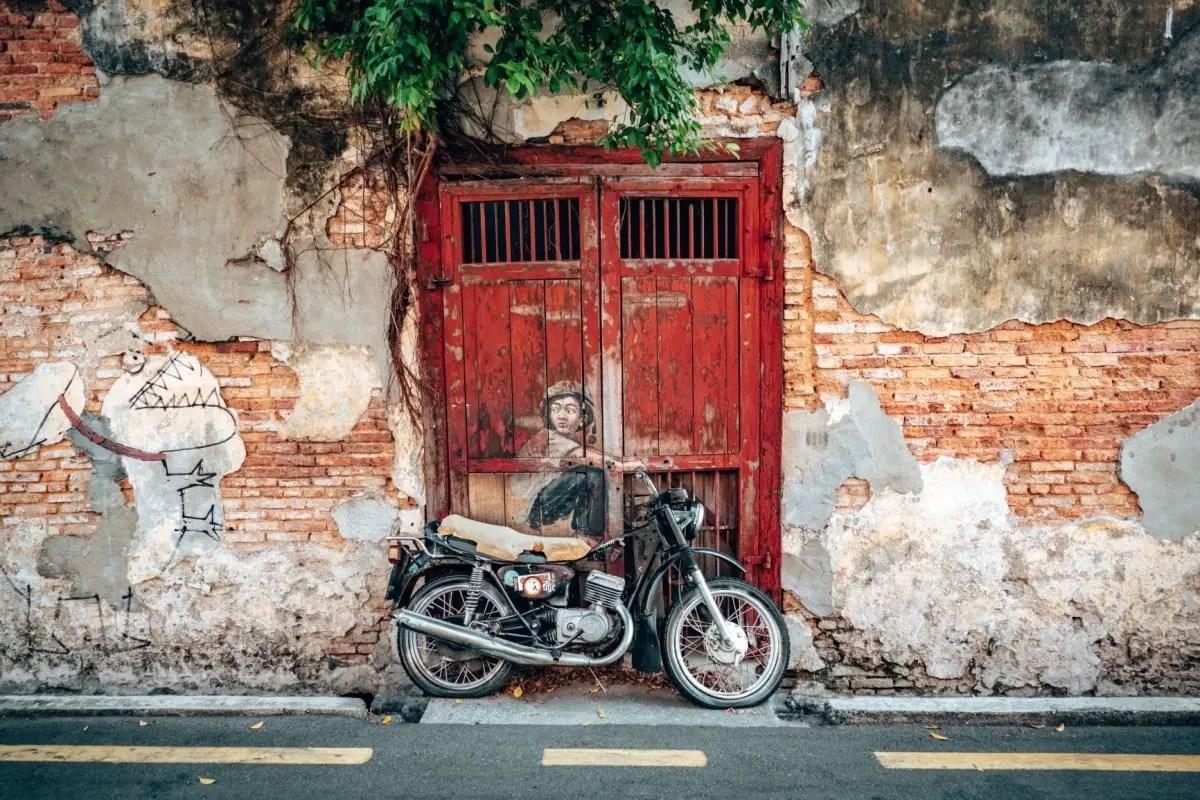 Books about wandelust - Penang Malaysia