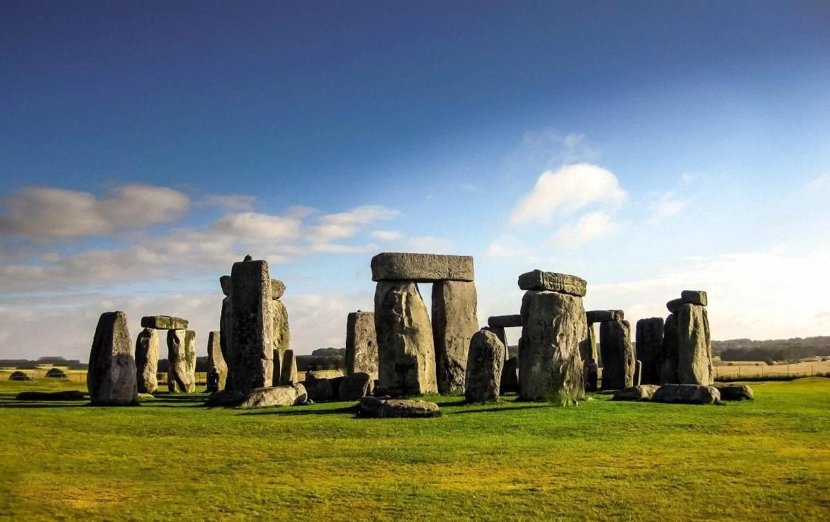 Books about wanderlust - Stonehenge England