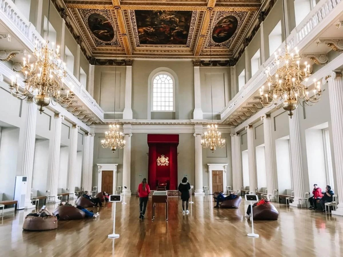 Hidden Gems in London - Interior of the Banqueting House