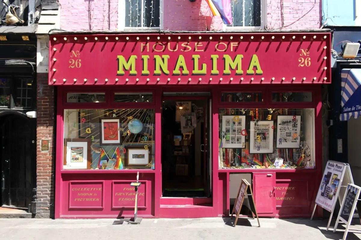 Non touristy things to do in London - MinaLima