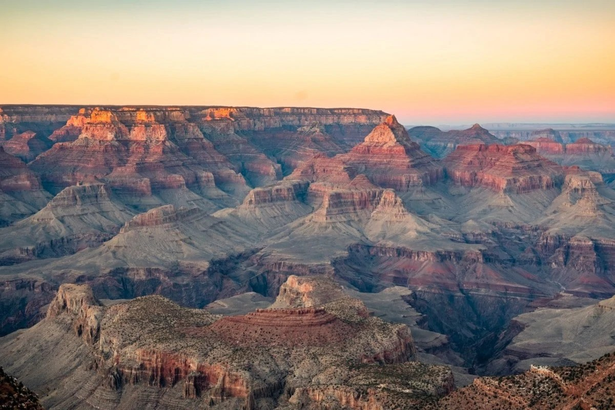 Famous landmark in the USA - Grand Canyon