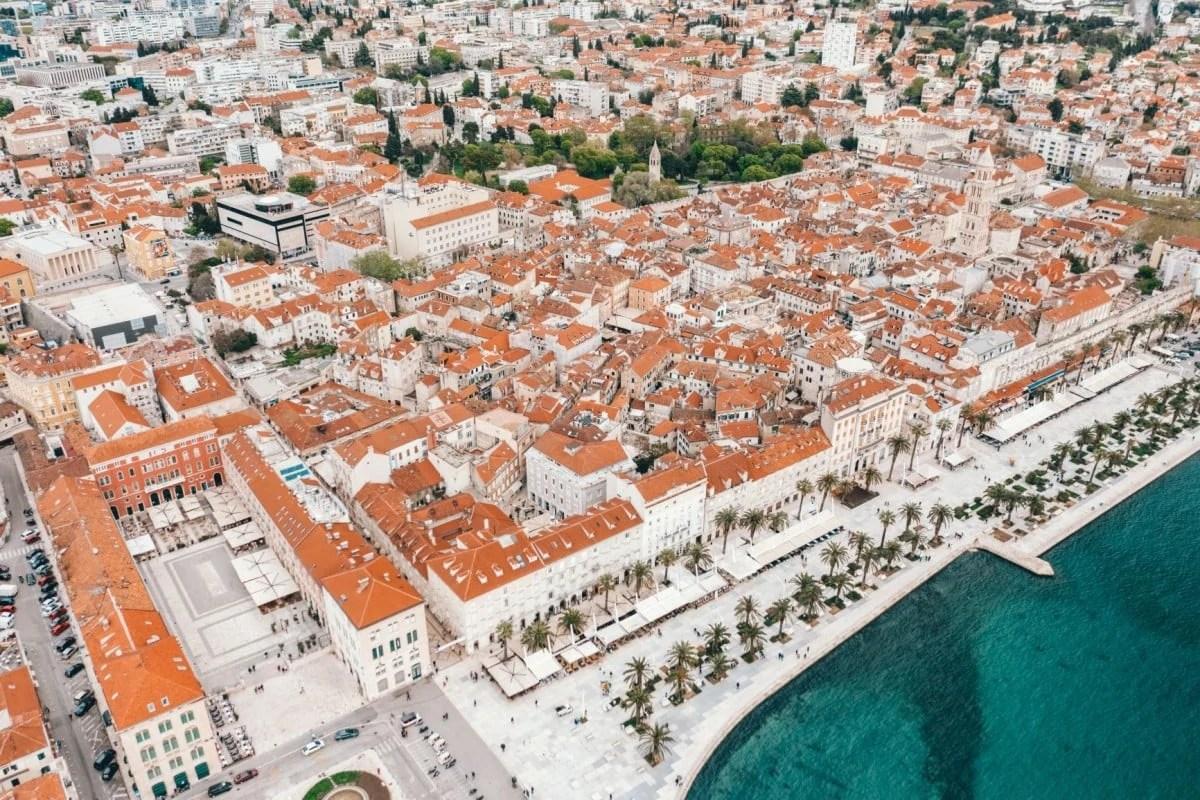 2 days in Split itinerary - Riva promenade