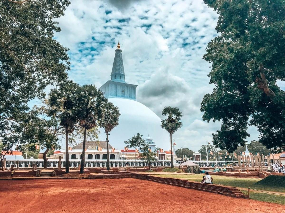 Landmarks in Sri Lanka - Ruwanweli Maha Seya, Anuradhapura