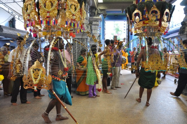 Thaipusam in Singapore Sri Srinivasa Perumal Temple at Serangoon Road