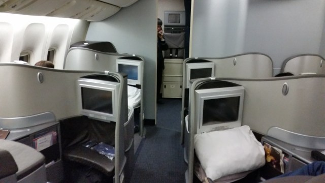 united 777 first class