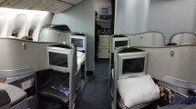 United Boeing 777 First Class Seats