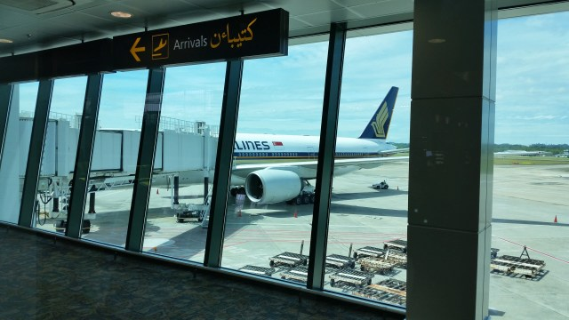 Singapore airline business class review
