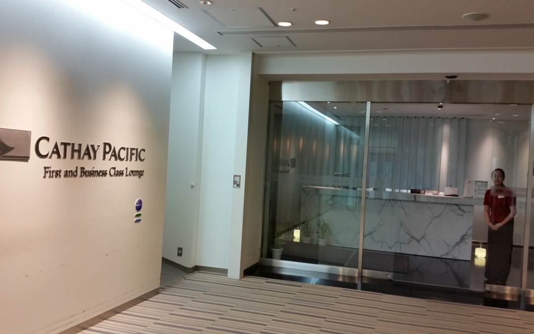 Review: Cathay Pacific First and Business Class Lounge – Tokyo Narita